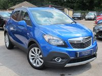 2014 VAUXHALL MOKKA 1.6 SE S/S 5d 113 BHP + PETROL + LEATHER HIGH SPEC £9499.00