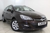 USED 2015 15 VAUXHALL ASTRA 1.6 DESIGN 5DR AUTOMATIC 115 BHP SERVICE HISTORY + BLUETOOTH + PARKING SENSOR + CRUISE CONTROL + MULTI FUNCTION WHEEL + AUXILIARY PORT + 16 INCH ALLOY WHEELS