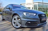 USED 2015 64 AUDI A3 2.0 TDI S LINE 3d AUTO 148 BHP ***REQUEST YOUR WHATS APP VIDEO***