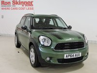 USED 2014 64 MINI COUNTRYMAN 1.6 ONE 5d 98 BHP with Pepper Pack