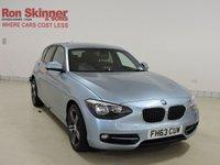 USED 2014 63 BMW 1 SERIES 2.0 116D SPORT 5d 114 BHP