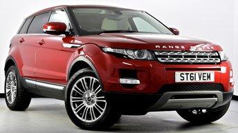 2011 LAND ROVER RANGE ROVER EVOQUE 2.2 SD4 Prestige AWD 5dr £18995.00