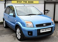 2008 FORD FUSION 1.6 FUSION PLUS 5d 89 BHP £2750.00