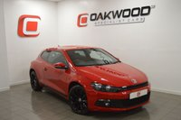 2013 VOLKSWAGEN SCIROCCO 2.0 GT TDI BLUEMOTION TECHNOLOGY 2d 140 BHP £SOLD