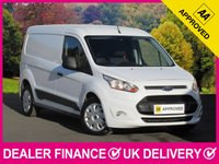 USED 2015 64 FORD TRANSIT CONNECT 1.6 TDCI TREND 210 LWB PANEL VAN 3 SEATS METAL BULKHEAD SIDE SLIDING DOOR BLUETOOTH