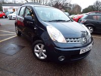 2007 NISSAN NOTE 1.4 ACENTA 5d 88 BHP £1995.00