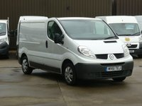 USED 2011 61 RENAULT TRAFIC 2.0DCi SL27 90 BHP NAV FINANCE AVAILABLE