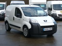 USED 2014 64 PEUGEOT BIPPER 1.3 HDI PROFESSIONAL  75 BHP FINANCE AVAILABLE