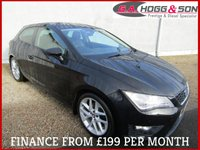 2014 SEAT LEON 2.0 TDI FR 3dr COUPE 184 BHP 'REALISTICALLY PRICED'  £9595.00
