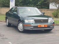 USED 1996 P LEXUS LS 400 4.0 4dr LOW MILES SUNROOF HEATED SEATS