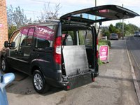 2010 FIAT DOBLO 1.4 8V DYNAMIC 4 SEATER + GOWRINGS WAV CONVERSION/RAMP £5995.00