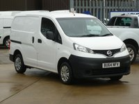 USED 2014 64 NISSAN NV200 1.5 DCI ACENTA  90 BHP FINANCE AVAILABLE