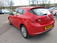 USED 2015 15 VAUXHALL ASTRA 1.6 EXCITE 5d 113 BHP