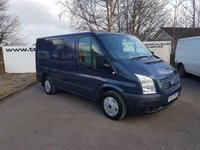 2012 FORD TRANSIT 260 2.2 100 BHP TREND LR **70 VANS IN STOCK** £6250.00