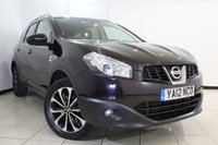 USED 2012 12 NISSAN QASHQAI+2 1.6 PLUS 2 N-TEC PLUS IS DCIS/S 5DR 130 BHP FULL SERVICE HISTORY + 7 SEATS + REVERSE CAMERA WITH 360 DEGREE VIEW + SAT NAVIGATION + PANORAMIC ROOF + BLUETOOTH + CRUISE CONTROL + MULTI FUNCTION WHEEL + 18 INCH ALLOY WHEELS