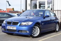 USED 2007 07 BMW 3 SERIES 2.0 320D SE 4d 161 BHP FULL SERVICE HISTORY 8 STAMPS, LONG MOT , SUPERB CONDITION CAR WITH ONLY TWO OWNERS FROM NEW