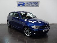 USED 2008 58 BMW 1 SERIES 2.0 120I M SPORT 3d 168 BHP
