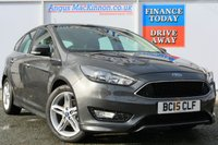 USED 2015 15 FORD FOCUS 1.0 ZETEC S 5d 124 BHP ONE OWNER FROM NEW