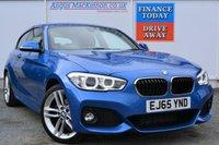 USED 2015 65 BMW 1 SERIES 2.0 120D M SPORT 3d AUTO 188 BHP ONE REGISTERED KEEPER