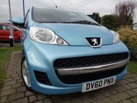 USED 2011 60 PEUGEOT 107 1.0 ENVY 3d 68 BHP **Ideal 1st Car Cheap Insurance £20 Yearly Tax 12 Months Mot**