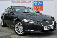 USED 2015 15 JAGUAR XF 2.2 D LUXURY 4d AUTO 200 BHP **ONE OWNER FROM NEW**