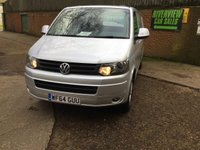 USED 2014 64 VOLKSWAGEN TRANSPORTER 2.0 T30 TDI HIGHLINE 140 BHP HIGH SPEC, LWB,  HIGH SPEC, 140 BHP, LONG WHEEL BASE,