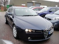 USED 2010 59 ALFA ROMEO 159 2.0 JTDM 16V TURISMO SPORTWAGON 5d 170 BHP ANY PART EXCHANGE WELCOME, COUNTRY WIDE DELIVERY ARRANGED, HUGE SPEC