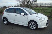 2011 CITROEN C3 1.6 HDI EXCLUSIVE 5d 90 BHP WHITE £3995.00