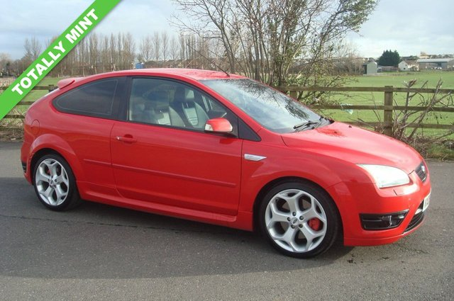 2006 06 FORD FOCUS 2.5 ST-3 3d 225 BHP TOTALLY MINT THROUGHOUT