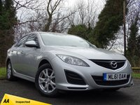 USED 2012 MAZDA 6 1.8 SAKATA 5d  **ONE OWNER FROM NEW**VERY LOW MILEAGE**
