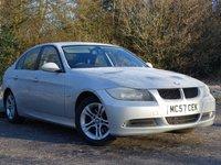 USED 2007 57 BMW 3 SERIES 2.0 320D SE 4d 174 BHP FULL LEATHER INTERIOR