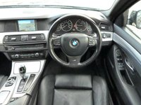 USED 2011 61 BMW 5 SERIES 2.0 520D M SPORT 4d AUTO  MEDIA PACKAGE ~ £7K OPTIONS ~ REAR CAMERA ~ SAT NAV ~ M SPORT PACKAGE ~ REAR CAMERA ~ HEATED LEATHER ~ VOICE CONTROL