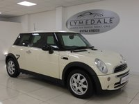 USED 2006 56 MINI HATCH ONE 1.6 ONE SEVEN 3d 89 BHP GREAT CONDITION, FULL SERVICE HISTORY, 1 YR MOT