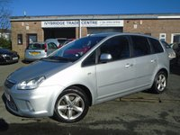 USED 2010 60 FORD C-MAX 1.8 ZETEC 5d 116 BHP LOW MILEAGE + 2 OWNER + NEW MOT