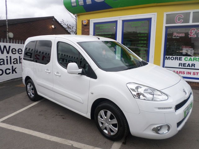 USED 2012 62 PEUGEOT PARTNER 1.6 HDI TEPEE S 5d 75 BHP 12 MONTHS MOT... 6 MONTH WARRANTY... FULL SERVICE HISTORY