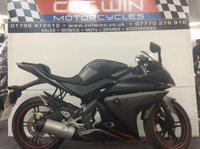 USED 2012 62 YAMAHA YZF-R125 124cc YZF R125  ONLY 1,600 MILES WITH FSH!!!