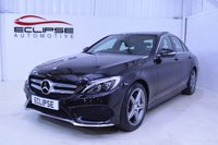 2015 MERCEDES-BENZ C CLASS 2.1 C220 BLUETEC AMG LINE PREMIUM PLUS 4d AUTO 170 BHP £SOLD