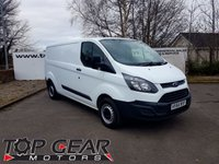 USED 2014 64 FORD TRANSIT CUSTOM 290 2.2 125 BHP L2 H1 P/V ** 20 CUSTOMS IN STOCK**