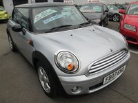2007 MINI HATCH COOPER 1.6 COOPER 3d AUTOMATIC  118 BHP £5295.00