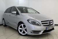 USED 2013 63 MERCEDES-BENZ B 200 1.8 B200 CDI BLUEEFFICIENCY SPORT 5DR AUTOMATIC 136 BHP SAT NAV Bluetooth 1 Owner Full Service History  1 Owner From New Full Mercedes Benz Service History Satellite Navigation  Bluetooth Connectivity