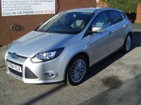 USED 2014 64 FORD FOCUS 1.6 ZETEC TDCI 5d 113 BHP **ZERO DEPOSIT FINANCE AVAILABLE** PART EXCHANGE WELCOME