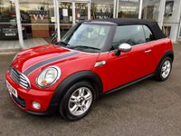 2012 MINI CONVERTIBLE 1.6 ONE 2DR CONVERTIBLE PEPPER PACK 98 BHP £SOLD