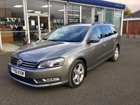 2011 VOLKSWAGEN PASSAT 2.0 SE TDI BLUEMOTION TECHNOLOGY 5DR 139 BHP £7980.00