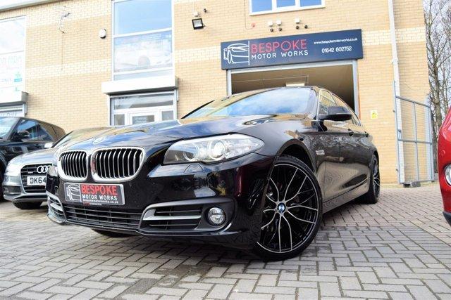 2014 64 BMW 5 SERIES 520D SE SALOON 2.0D SE AUTOMATIC