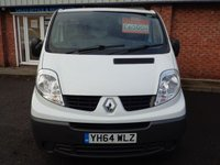 USED 2014 64 RENAULT TRAFIC 2.0 SL29 DCI S/R P/V 1d 115 BHP