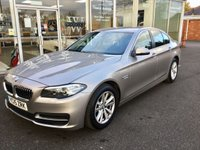 2015 BMW 5 SERIES 2.0 520D SE 4R AUTO 188 BHP £SOLD