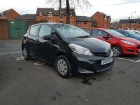 USED 2013 63 TOYOTA YARIS 1.0 VVT-I T2 5d 70 BHP EXCELLENT FUEL ECONOMY!!..LOW CO2 EMISSIONS..£30 ROAD TAX!..FULL HISTORY..ONLY 9032 MILES FROM NEW!!..WITH CENTRAL LOCKING,ELECTRIC WINDOWS, AUXILLIARY AND USB INPUT!!