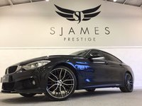 2015 BMW 4 SERIES 2.0 420D XDRIVE M SPORT GRAN COUPE 4d AUTO 188 BHP £21490.00