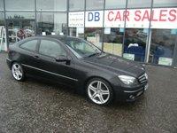 2009 MERCEDES-BENZ CLC-CLASS 2.1 CLC220 CDI SPORT 3d AUTO 150 BHP £5995.00