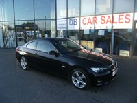 USED 2008 08 BMW 3 SERIES 2.0 320I SE 2d 168 BHP FREE 6 MONTHS RAC WARRANTY AND FREE 12 MONTHS RAC BREAKDOWN COVER